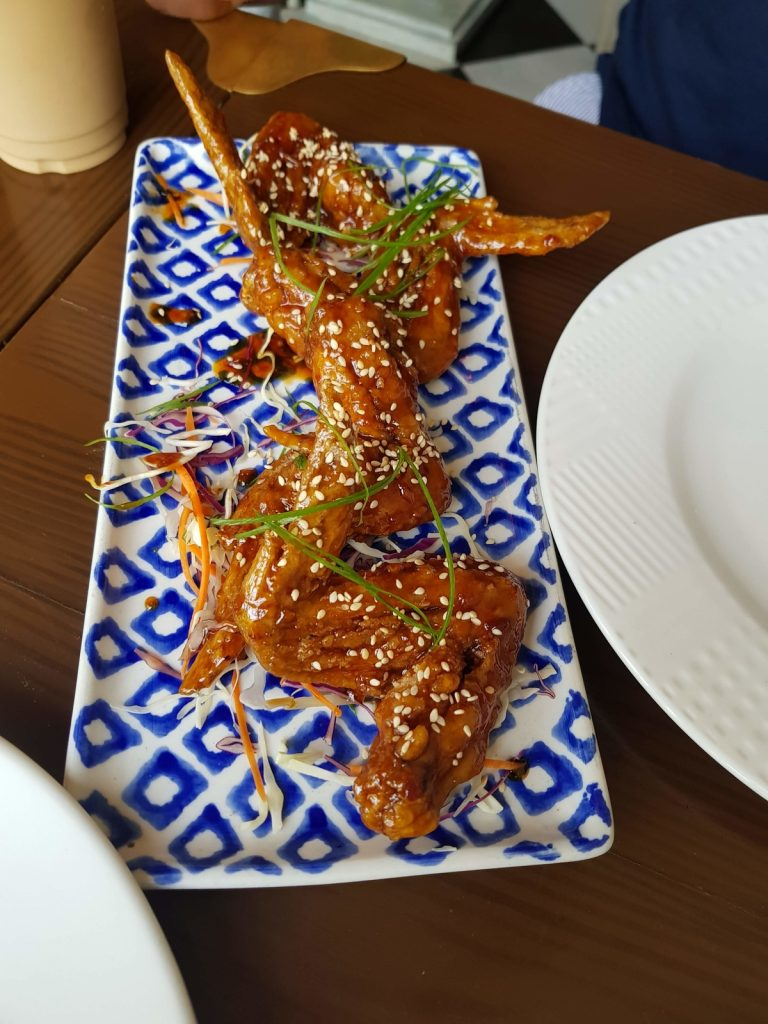 The Burning Giraffe Lahore Food Korean Wings