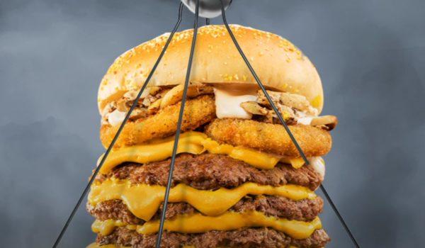 Burger Lab Quadra Reloaded Burger Lahore