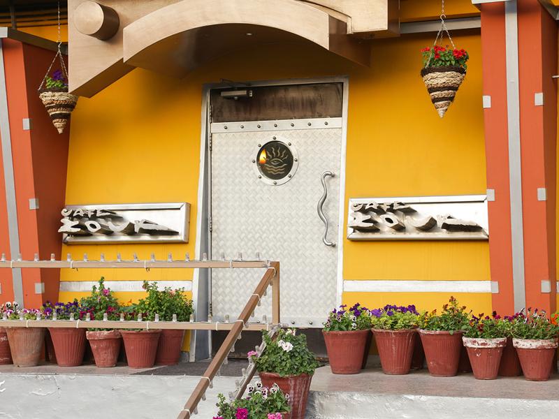 Cafe Zouk Exterior